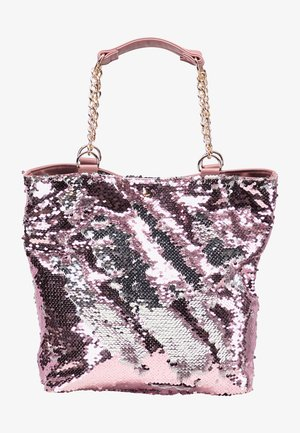 Shopping bag - rosa silber