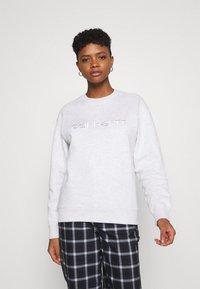 Carhartt WIP - Sweatshirt - ash heather/white - 0