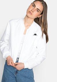 Kappa - ILVA - Training jacket - bright white - 0