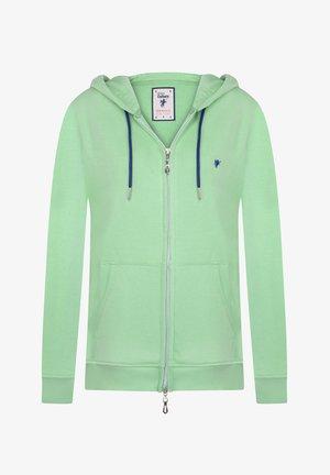 MELISSA - Zip-up sweatshirt - mint