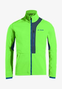Vaude - VIRT SOFTSHELL JACKET - Soft shell jacket - vibrant green - 0