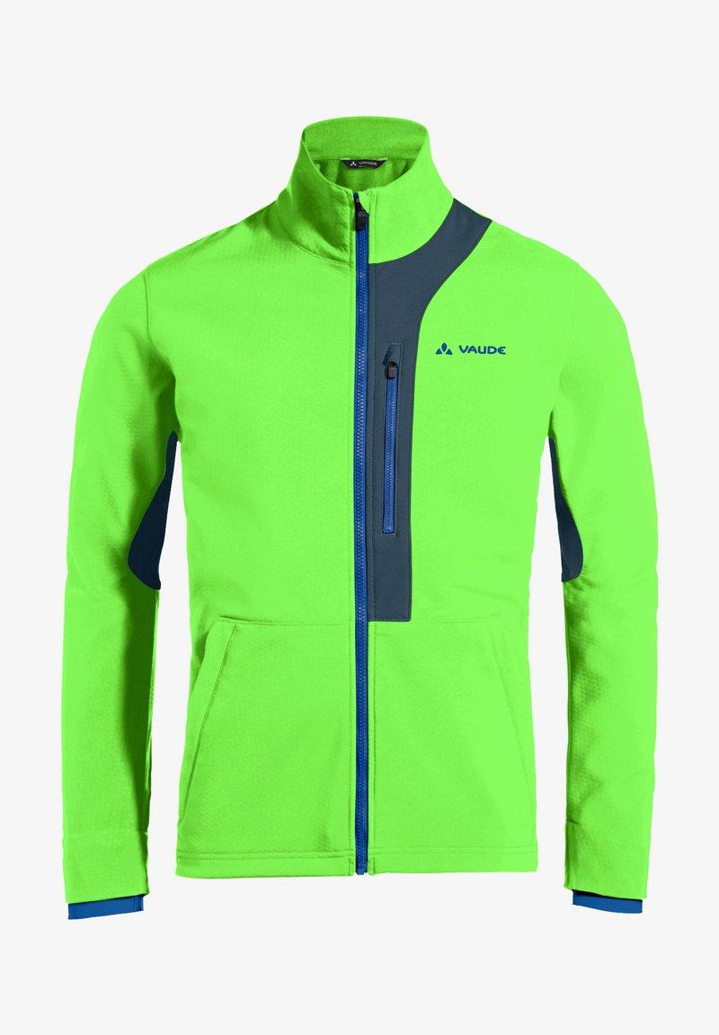 Vaude - VIRT SOFTSHELL JACKET - Soft shell jacket - vibrant green
