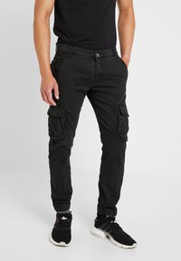 Alpha Industries - ARMY PANT - Bojówki - black - 0