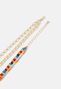Pieces - PCMILLE COMBI NECKLACE - Necklace - gold-coloured/multi - 1