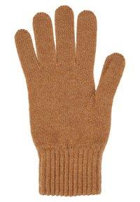 Johnstons of Elgin - CASHMERE GLOVES - Gloves - camel - 4