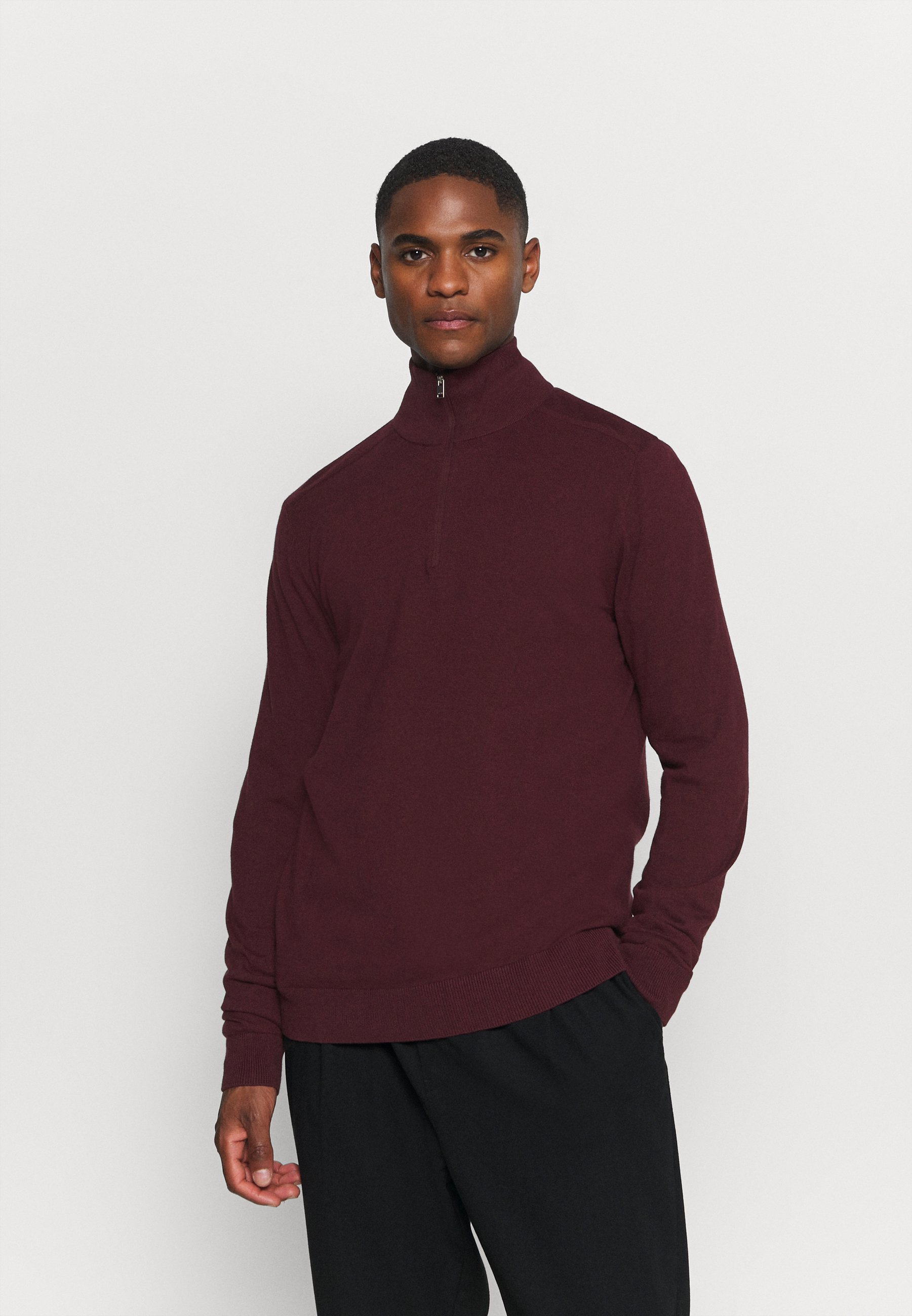 Homme SLHBERG HALF ZIP  - Pullover