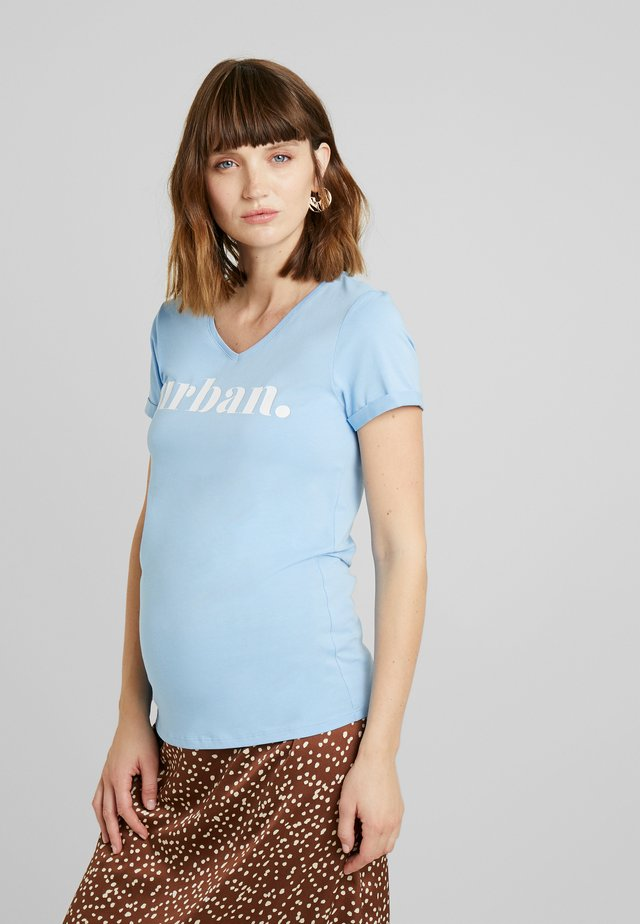 TEE URBAN - T-shirt imprimé - placid blue