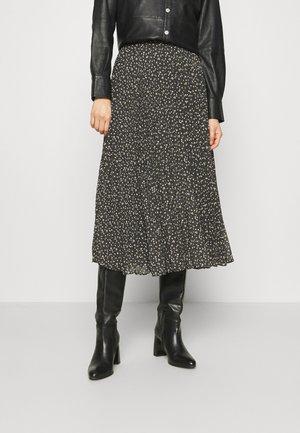 DELLA SKIRT - A-line skirt - caviar
