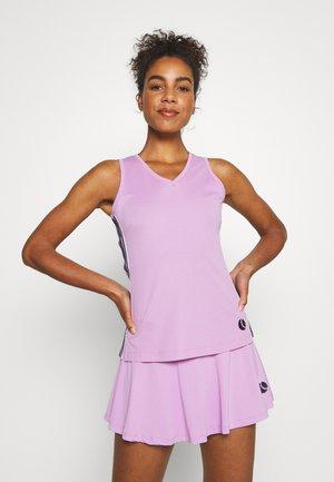 TALA TANK - Sports shirt - violet tulle