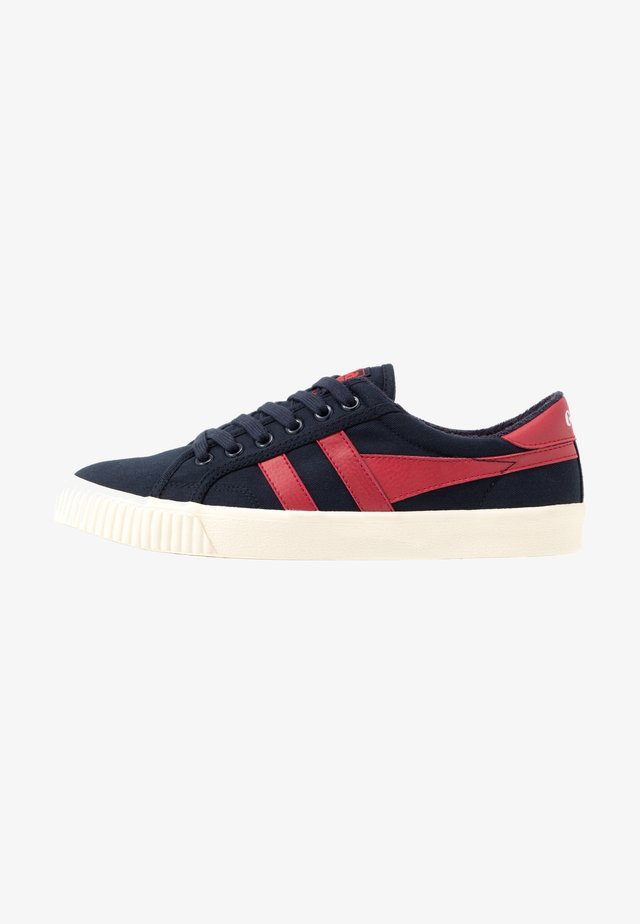 TENNIS MARK COX VEGAN - Trainers - navy/red
