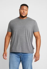 Burton Menswear London - BASIC TEE 7 PACK - T-Shirt basic - grey/black/white - 2