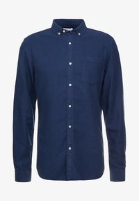 Knowledge Cotton Apparel - ZIG ZAK SHIRT - Shirt - dark denim - 5