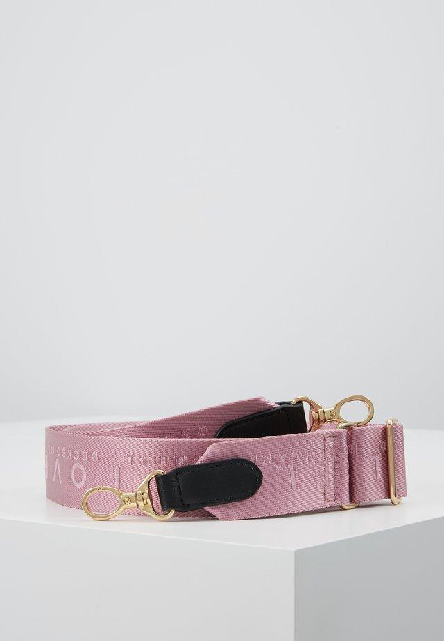 BECKI LOGO STRAP - Muut asusteet - pink lavender