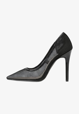 SLIM - Høye hæler - black