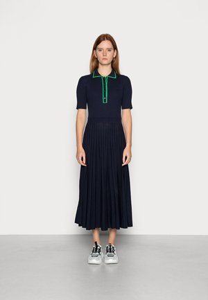 Jumper dress - navy blue/malachite