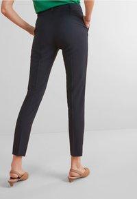 Next - SLIM TROUSERS - Spodnie materiałowe - blue - 2