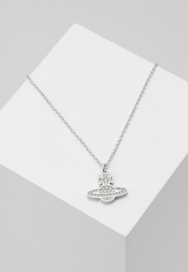 ROMINA PAVE PENDANT  - Necklace - silver-coloured