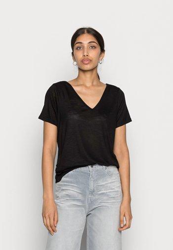 VINOEL  - Basic T-shirt - black