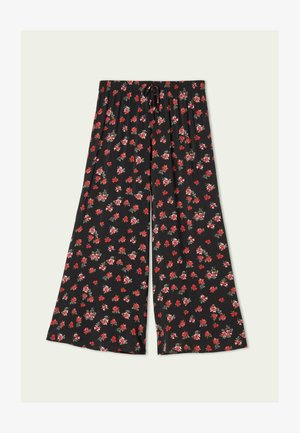 Trousers - nero st.red pinks