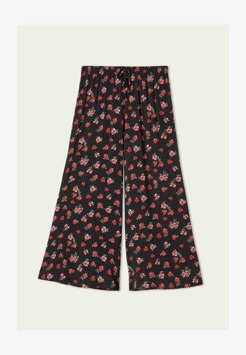 Pantaloni - nero st.red pinks