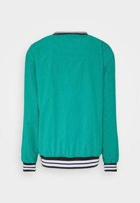 Karl Kani - UNISEX SERIF CREW - Sweatshirt - turquoise - 1