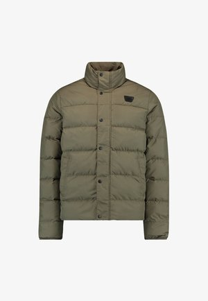 CHARGED PUFFER - Outdoorjacke - olive