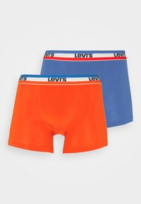 Levi's® - LOGO BOXER BRIEF 2 PACK - Pants - red/blue - 0