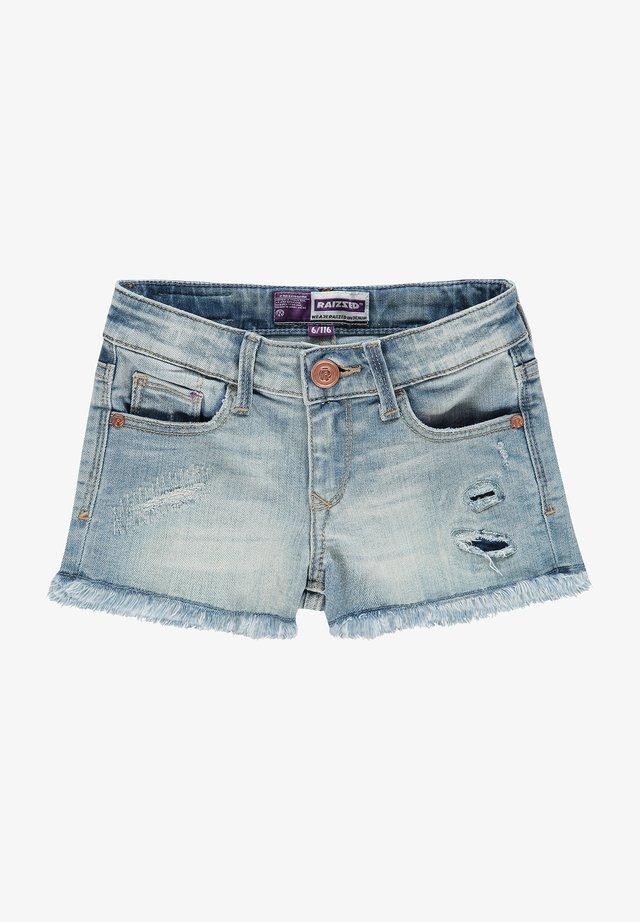 Denim shorts - vintage blue
