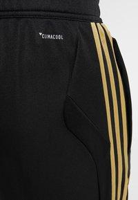 adidas Performance - REAL MADRID CLUB CLIMACOOL FOOTBALL PANTS - Tracksuit bottoms - black - 5
