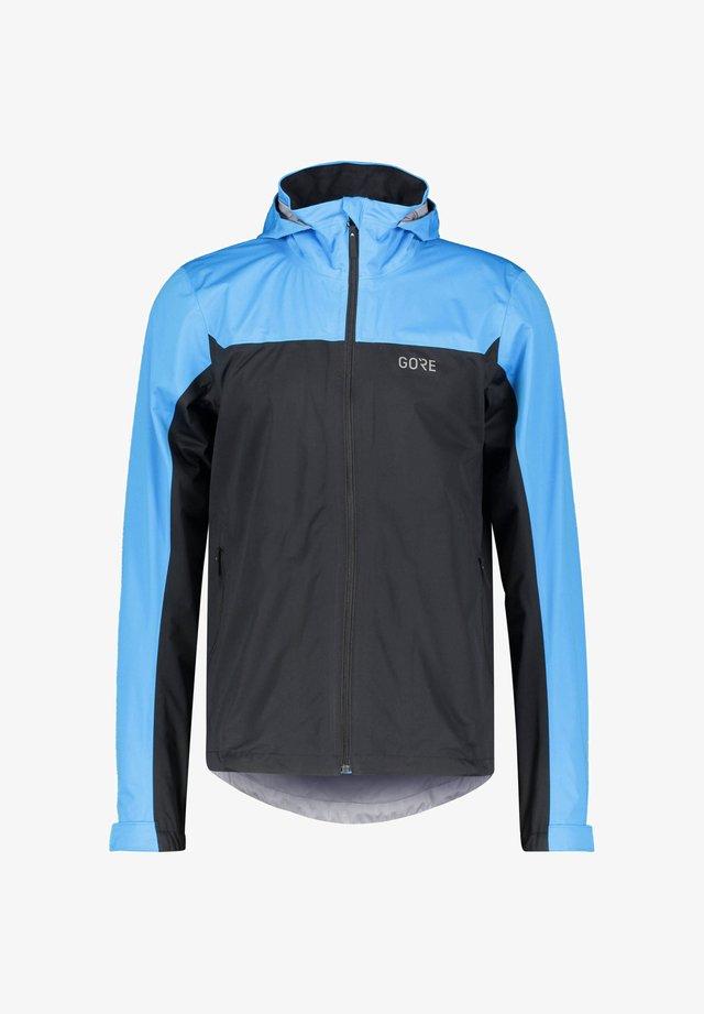 Training jacket - schwarz/blau