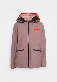 Helly Hansen - POWDERQUEEN 3.0 JACKET - Snowboard jacket - ash rose - 5