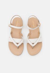 Anna Field Wide Fit - T-bar sandals - white - 5