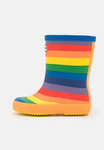 ORIGINAL KIDS FIRST CLASSIC RAINBOW PRINT WELLINGTON BOOTS - Kumisaappaat - multicoloured