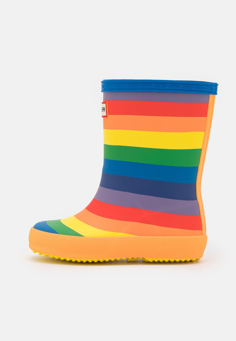 Hunter ORIGINAL - ORIGINAL KIDS FIRST CLASSIC RAINBOW PRINT WELLINGTON BOOTS - Kumisaappaat - multicoloured