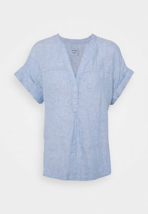 BLOUSE - T-shirt con stampa - blue