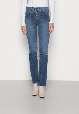 GAUCHO - Flared Jeans - blaze stone