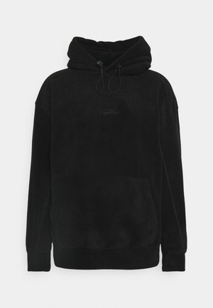 HOOD - Fleece jumper - black