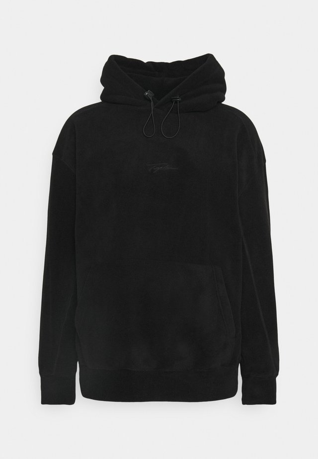 HOOD - Fleece jumper - black