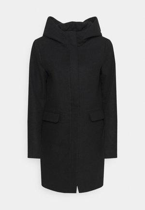 ONLOLIVIA HOODED COAT - Classic coat - black
