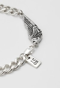 Icon Brand - WING CHARM BRACELET - Bracelet - silver-coloured - 0