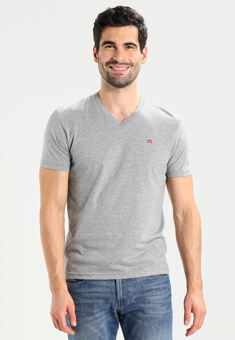 Napapijri - SENOS V - T-Shirt basic - grey