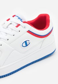 Champion - SHOE REBOUND - Chaussures de basket - white/royal blue/red - 5
