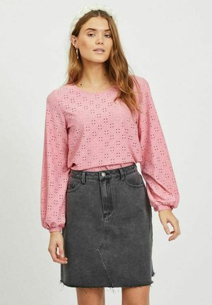 VITRESSY DETAIL ONECK - Long sleeved top - wild rose