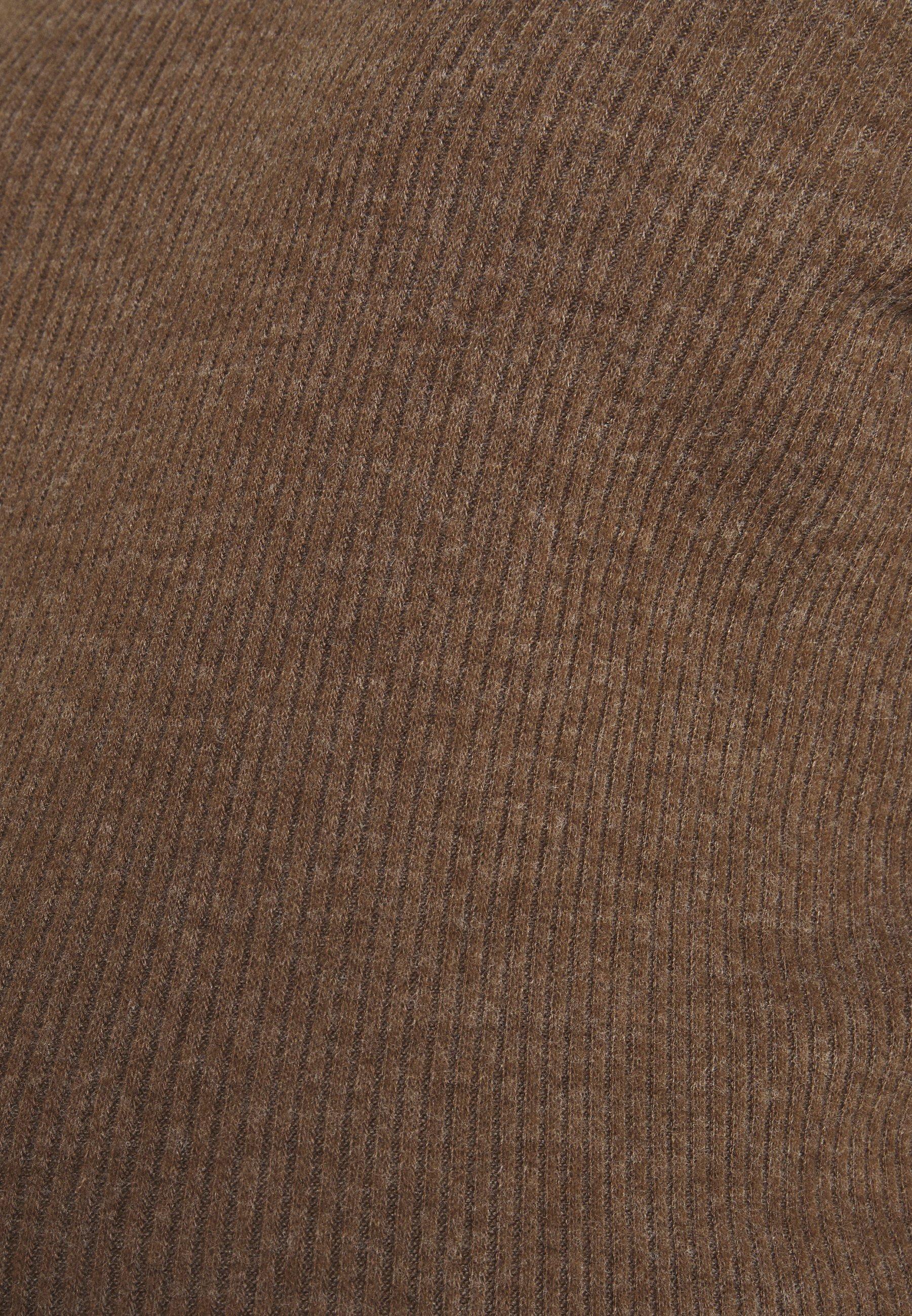 Pieces Maternity Pcmhermione - Strikkegenser Taupe/gråbrun
