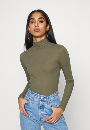 PCPIPPI LS ROLLNECK TOP - Long sleeved top - sea turtle