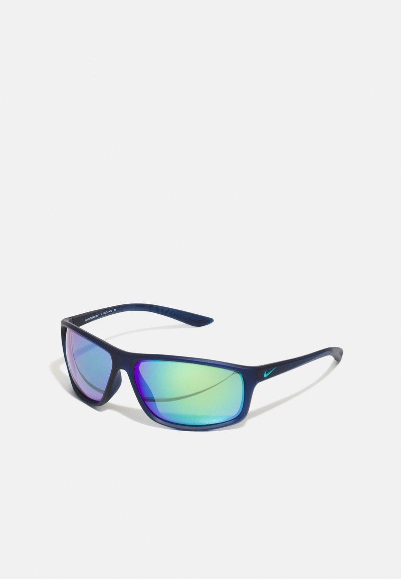 Nike Sportswear - ADRENALINE UNISEX - Sunglasses - blue/green