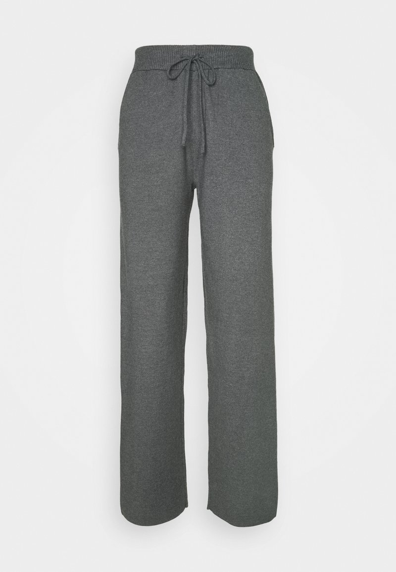 Anna Field Tall - Tracksuit bottoms - mottled dark grey