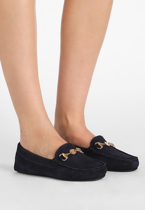 MICROTINA - Mocassins - navy blue kiowa