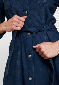 Monki - WAY DRESS - Jeanskjole / cowboykjoler - dark blue - 4