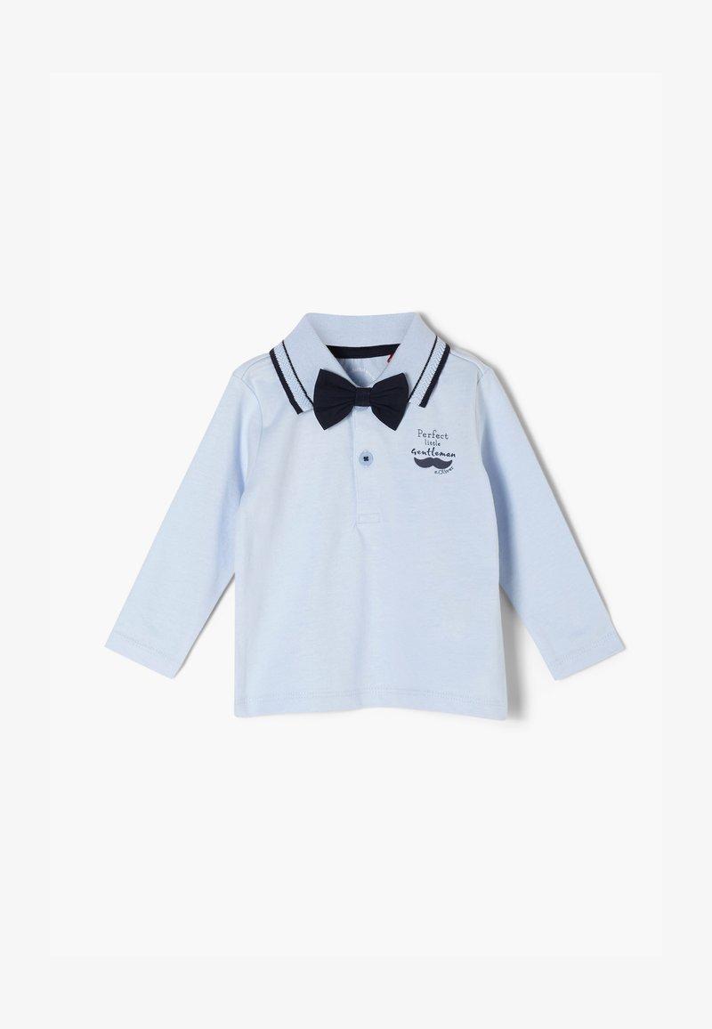 s.Oliver - Polo shirt - light blue